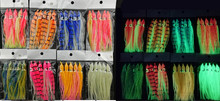 Soft Squid Skirt Fishing Tackle Sea Lures Octopus Bait Threads Skirts 11cm