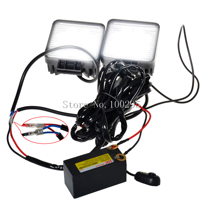 aliexpress com buy hot fog light wiring harness kit aliexpress com buy hot fog light wiring harness kit car switch driving light work light relay wire fuse holder wiring harness line set from