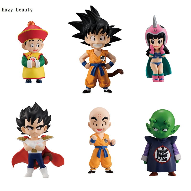 Dragon Ball Super Goku Vegeta Piccolo Gohan Krillin Roshi Action Figures Toy PVC