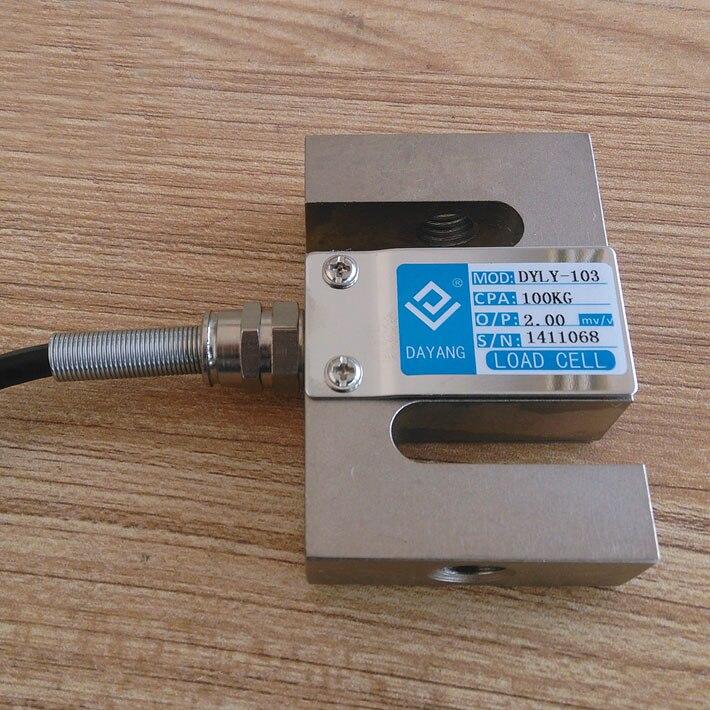 Free shipping original 1pc waterproof S pressure sensor 0-10t S Load Cells sensor more optionFree shipping original 1pc waterproof S pressure sensor 0-10t S Load Cells sensor more option