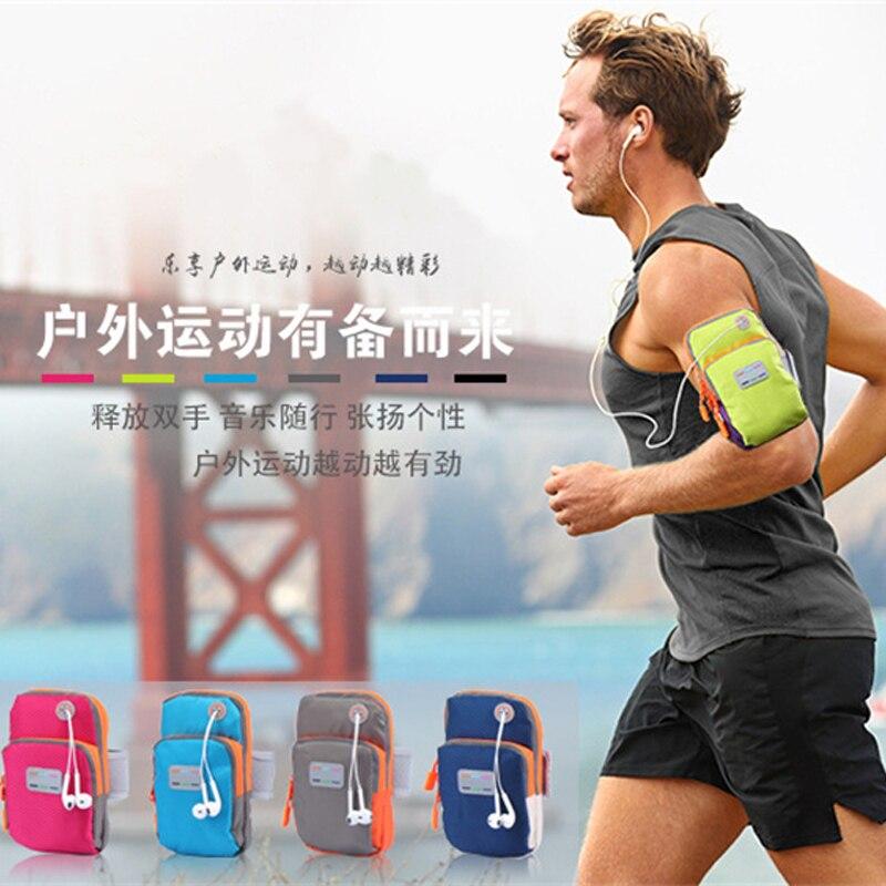 Для женщин/Для мужчин Водонепроницаемый Бег Спорт повязку сумка спортивная Pounch ремень крышка телефона чехол для хранения наушников сумка д…