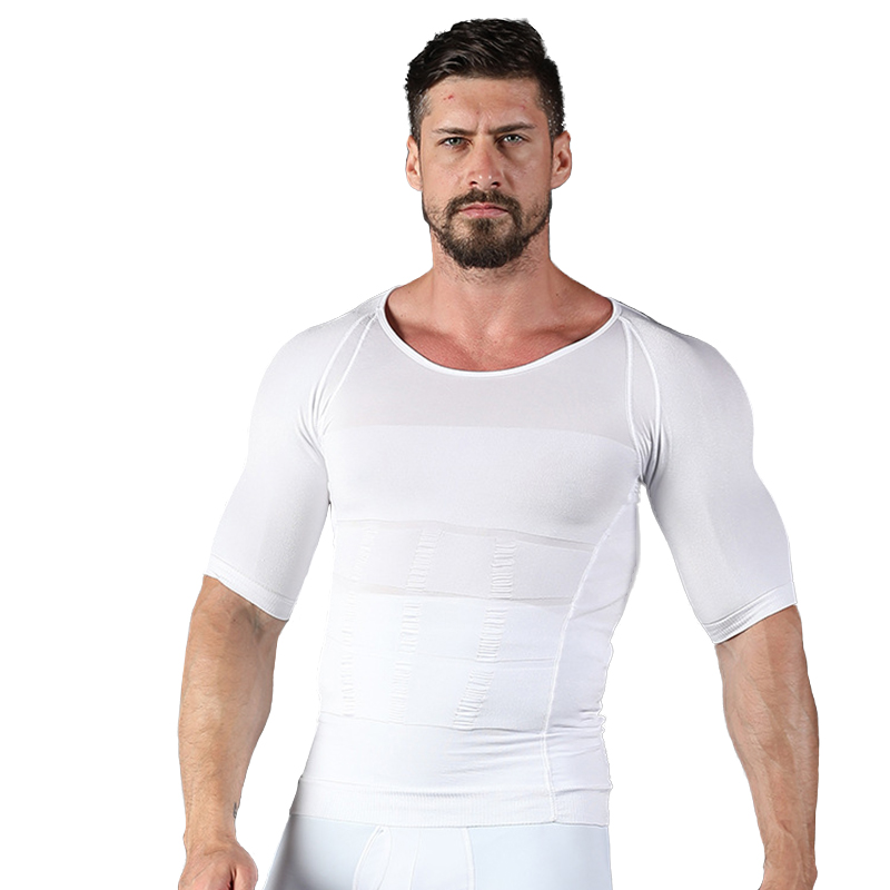 Men's Slimming Shaper Posture Vest Male Belly Abdomen For Corrector Compression Body Building Fat Burn Chest Shirt Corset Hot