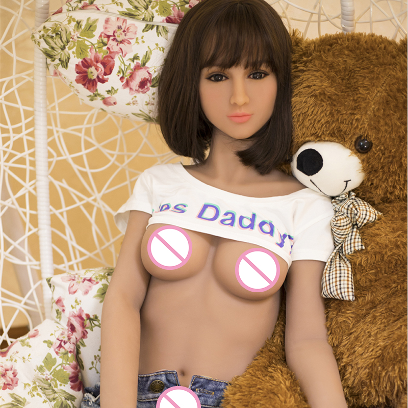 158cm Real Silicone Sex Doll for Man with Vagina Anal Oral Love robot Doll Japanese Lifesize Full Body Love Dolls with Skeleton
