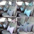 Подушка на подголовник для шеи автомобиля с милым бантом в полоску  креативная Автомобильная подушка для безопасности сидений  подушка для ...
