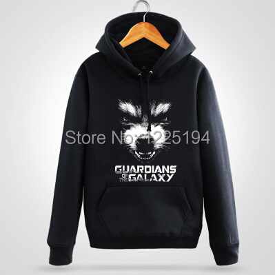 Guardians of the Galaxy Rocket Raccoon Cosplay Print Winter/Autum Hoodie Hoodies Coat Outwear Jacket Hot Game Free Shipping