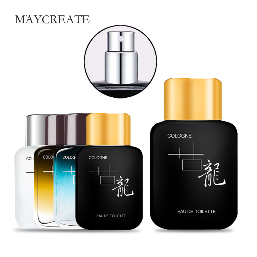 MayCreate 50ml Men Perfume Air Fragrance Fashion Mini Perfume Men Parfum Bottle Portable Men's Cologne Perfume Brand Perfumes
