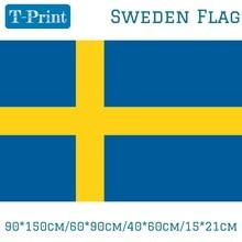 90*150 см/60*90 см/40*60 см/15*21 см Швеции Национальный флаг 3x5ft подвесной флаг