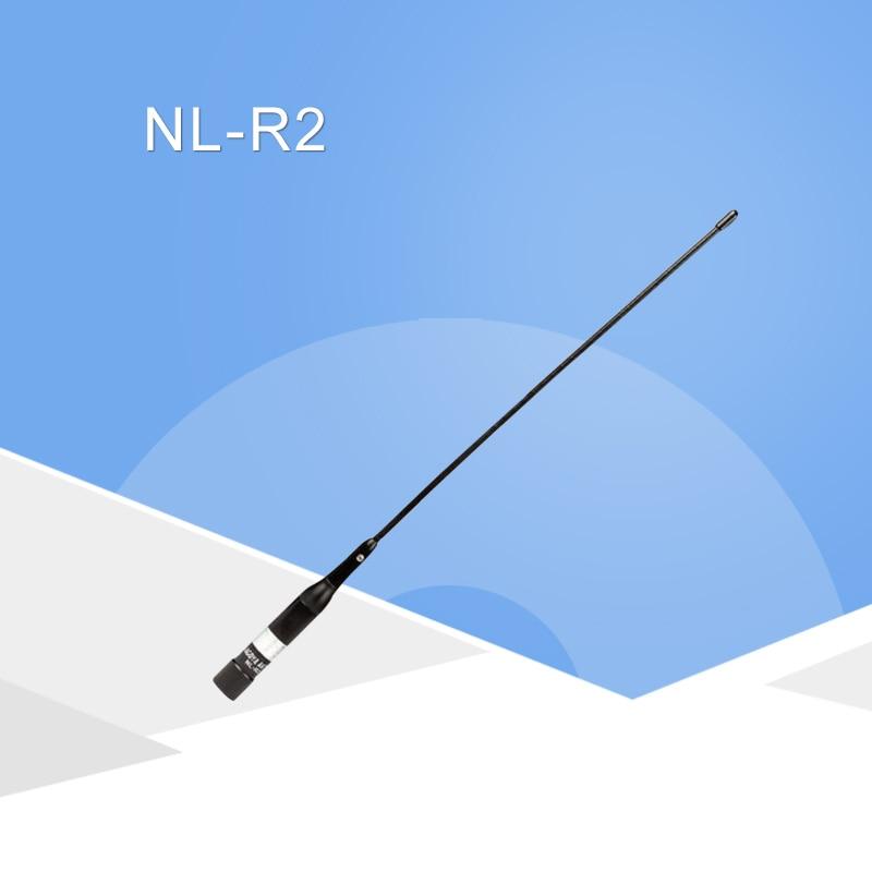 R2 Antenna 144/430MHz Dual-Band Flexible Mobile Whip Antenna Car Antenna For Two Way Radio