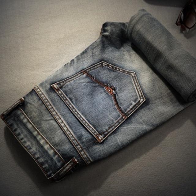 Men's Retro Straight Denim Jeans 1
