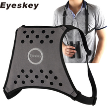 Eyeskey 4 Way Adjustable Binoculars Strap Harness Strap – Great for Binoculars, Cameras and Rangefinders