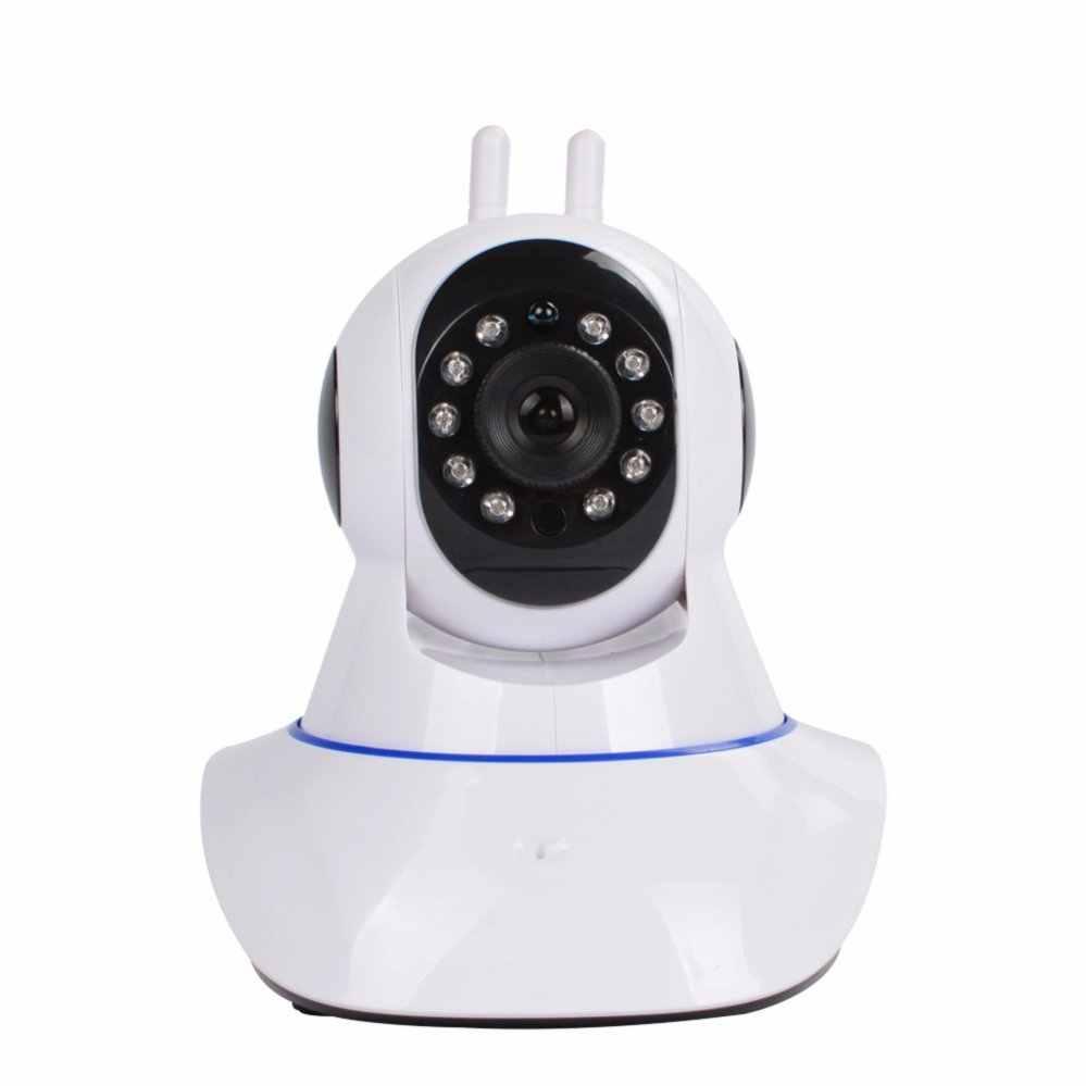 Ganda Antenna Wifi IP Pintar ONVIF Peliharaan Kamera Wifi P2p Mini Nirkabel Ip CCTV Kamera Kamera IR Nachtsicht Kolam Sicherheit sistem