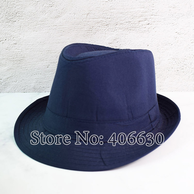 Black Fedora Jazz Cap 2
