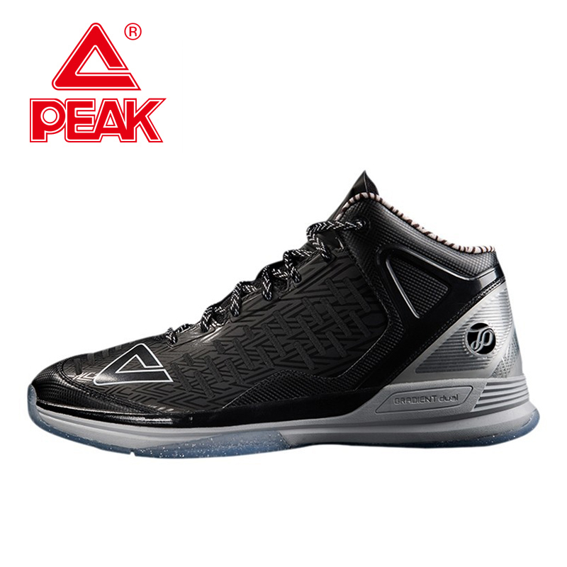 PEAK SPORT Tony Parker II TP9 Professional Player Special Edition Men Basketball Shoes Gradient Dual Tech Sneakers EUR 40-50 peak sport men outdoor bas basketball shoes medium cut breathable comfortable revolve tech sneakers athletic training boots