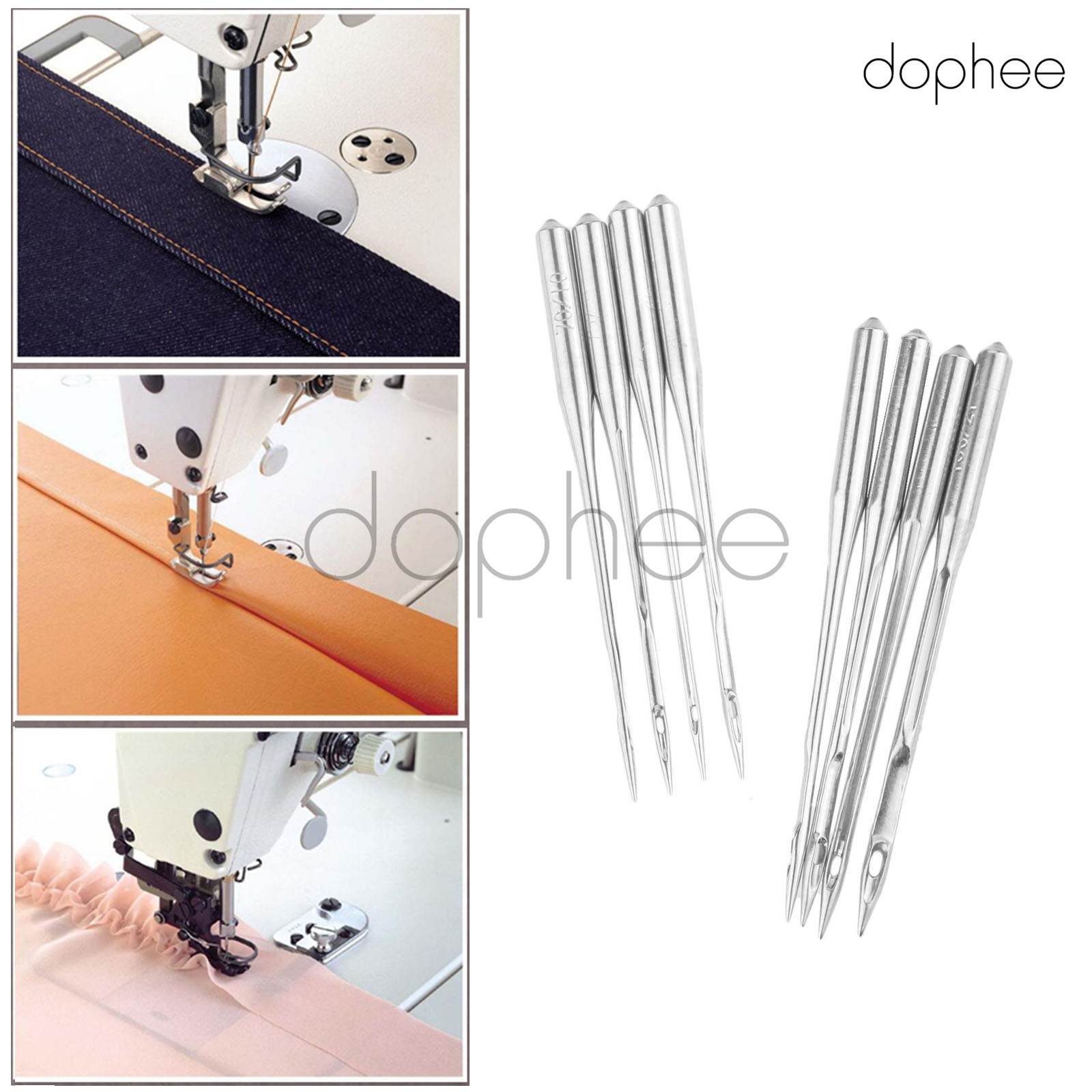 Dophee 10Pcs Metal Stainless Sewing Machine Bobbins for Brother Toyota Janome Singer