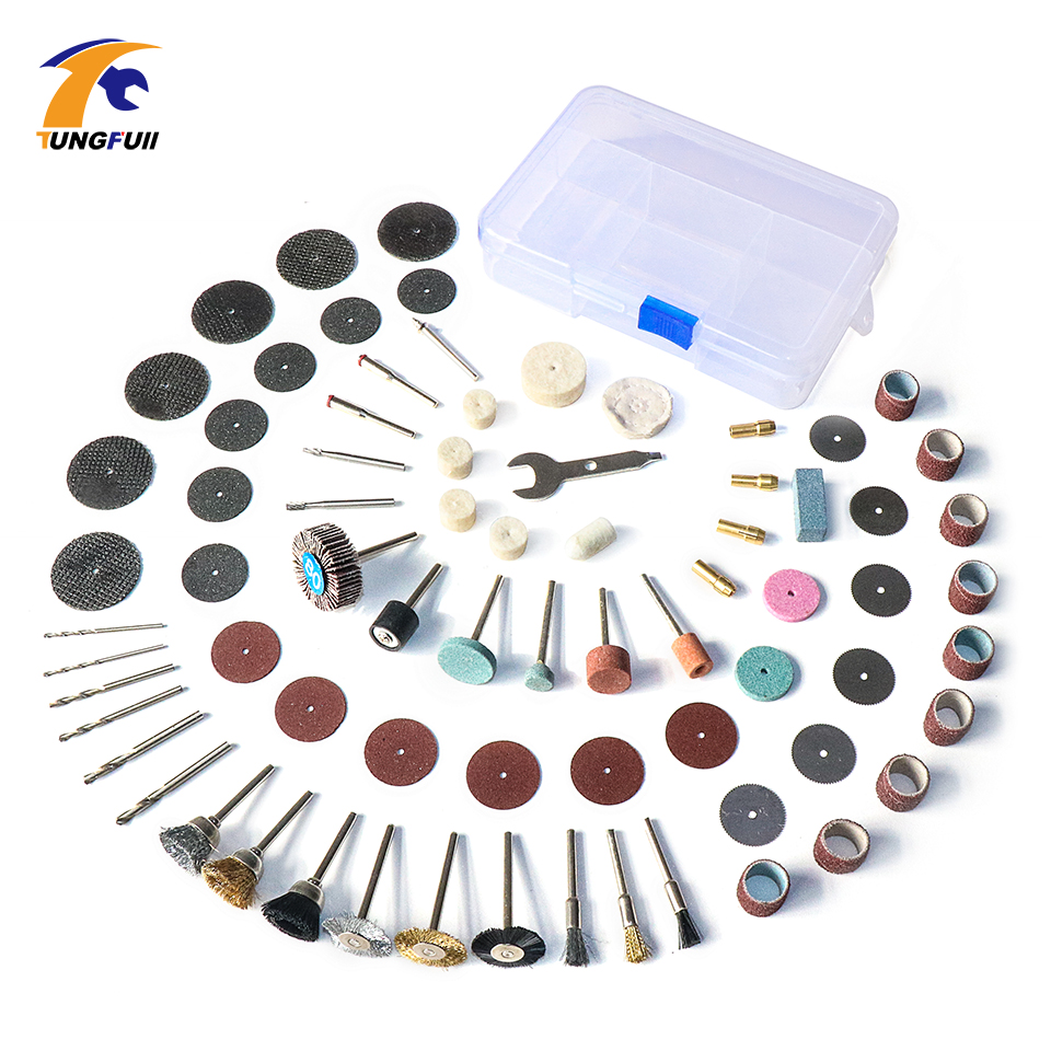 Tungfull Power Tool Accessories Metalworking Cutting Disc Dremel Accessories For Rotary Tools 1/8 Shank polishing wheels mx demel high quality 17pcs 1 2 felt polishing wheels dremel accessories fits for dremel rotary tools dremel tools small