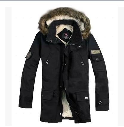 Men's Fashionable Casual Thickening design short Cotton Coat Men Winter jacket Parka , M-XXL