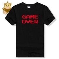 8 mots peu rétro classique jeu console FC effet mots JEU SUR les fans de jeux de t shirts hommes t chemises divers coton tee ac438