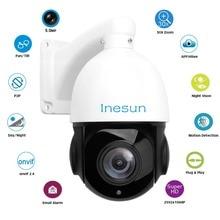 Inesun 4 Inch PoE IP PTZ Camera Super HD 5MP 2592×1944 30x Optical Zoom Outdoor Waterproof Speed Dome Camera 80m IR Night Vision