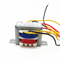전원 어댑터 오디오 변압기 9 w 4 그룹 ac12v dac 헤드폰 앰프 변압기 AC12V-0V-12V