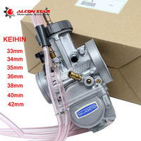Alconstar Universal Quad Vent Carb PWK 33 34 35 36 38 40 42mm PWK38 AS/S66 38mm Air Striker For Keihin Carburetor