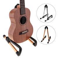Universal A Frame Aluminium Alloy Folding Guitar Stand Floor Stand Holder For Holding Guitar Bass Ukulele