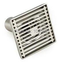 MAIDEER 304 Нержавеющая сталь, никелирование 3 дюймов 100 мм * 100 мм трапных Дезодорации трапных