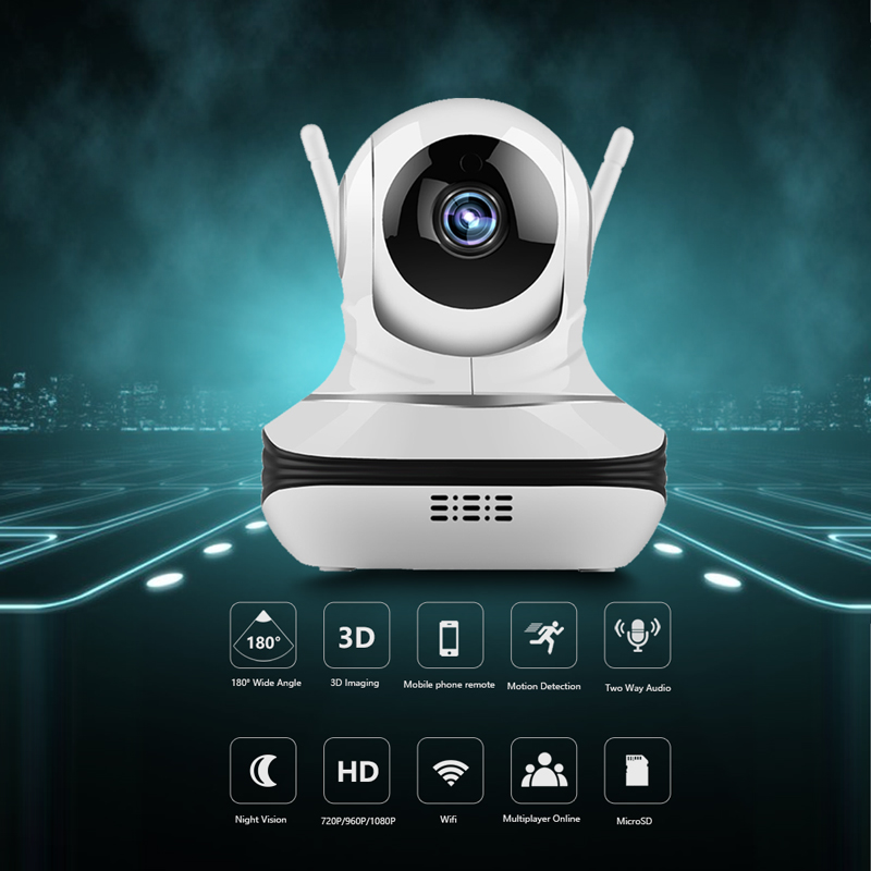 720P IP Camera font b Wireless b font video Surveillance Camera WiFi Night Vision mini CCTV