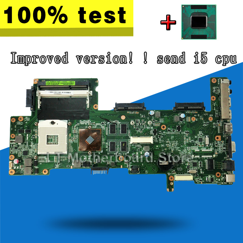 Improved version! ! send i5 cpu For ASUS laotop Motherboard K72DR X72D K72DY K72DE A72D K72DR Mainboard Motherboard test 100% OK send i5 cpu n73sv laptop motherboard 8 memory gt 425m 1gb 3 ram slot for asus n73sv n73s n73sm motherboard mainboard test ok
