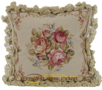 outdoor 15K mesh handmade cuhsions embroidery lace pillow vintage pastoral luxury garden pillow covers wm 100gc165yg4
