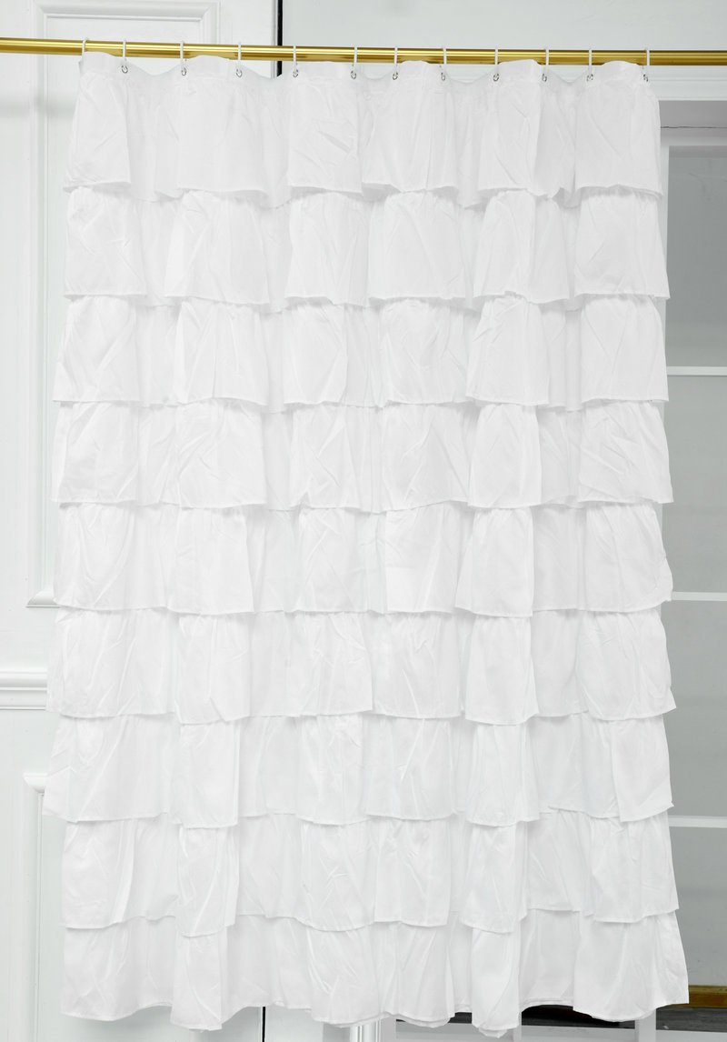 Detail Feedback Questions About 180180cm White Shower Curtain