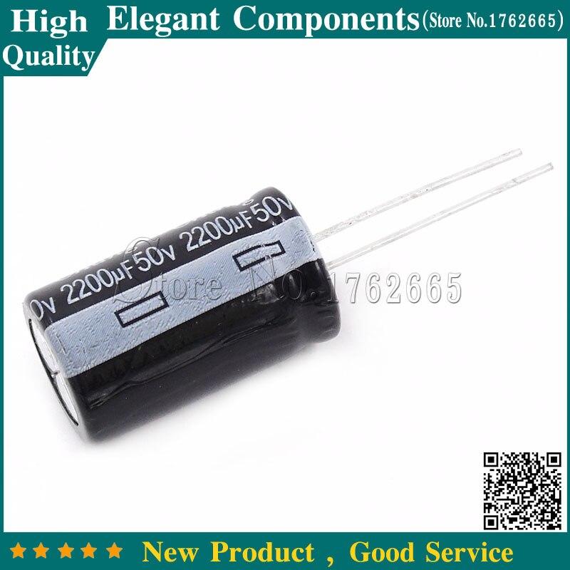 Алюминиевый электролитический конденсатор, 10 шт., 50 в, 2200 мкФ, 2200 мкФ, 50 в, размер 16*25 мм, 50 В/2200 УФ электролитический конденсатор|capacitor electrolytic|capacitor 2200uf 50vcapacitor 50 v | АлиЭкспресс