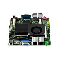DHL 무료 배송 팬 산업 미니 PC/임베디드 미니 호스트/ITX 마더 보드 I3-3217U