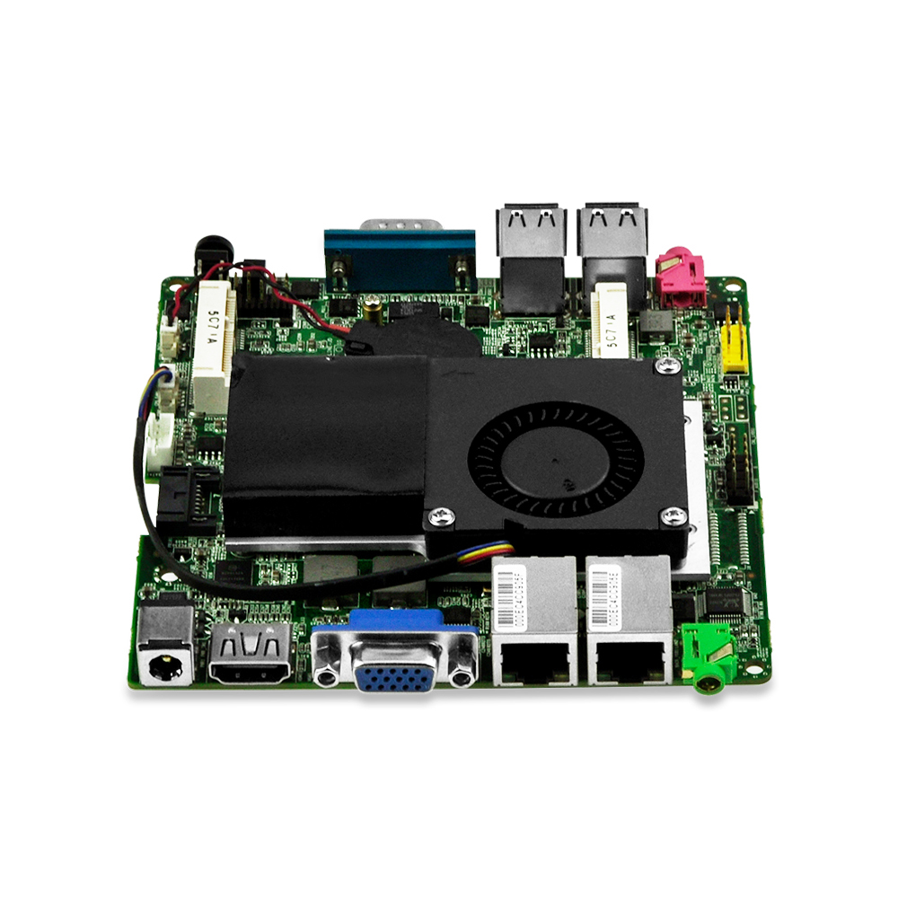 DHL Free shipping Fan industrial Mini PC / Embeded Mini Host / ITX Motherboard I3-3217U Dual core free shipping 1pcs i3 3217u sron9 sron9 i3 3217u 100% new goods in stock