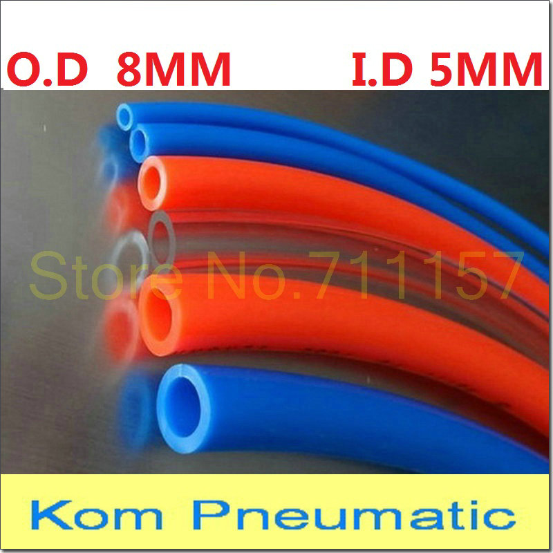Pu Polyurethan Flexibel Luftschlauch Pneumatisch Rohr Tube Luftschlauch 12 X 8mm