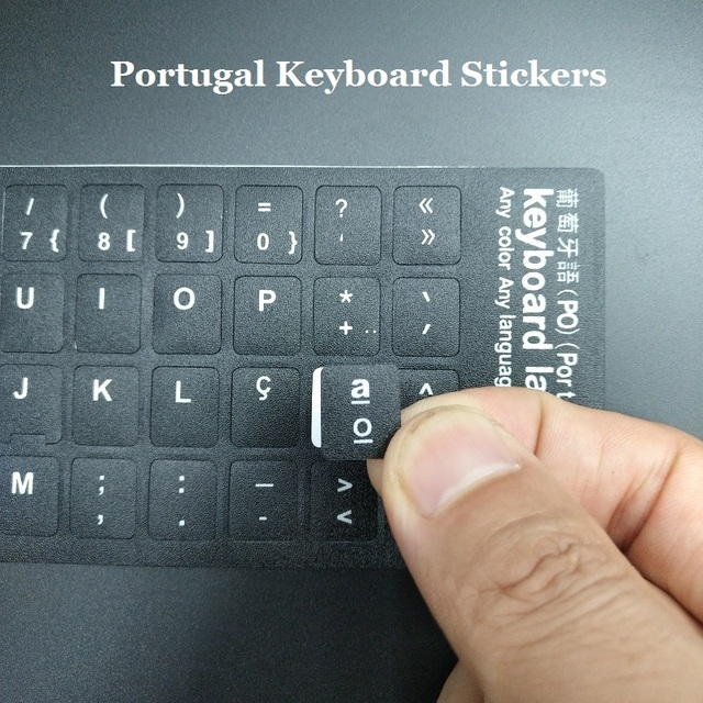 5pcs Pt Portugal Notebook Keyboard Stickers For Macbook Air Pro 11