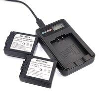 2X CGA-S006 S006 DMW-BMA7 S006A CGR-S006E Batterie + LCD USB Ladegerät für Panasonic Lumix DMC-FZ7 FZ8 FZ18 FZ28 FZ30 FZ35 FZ38 FZ50