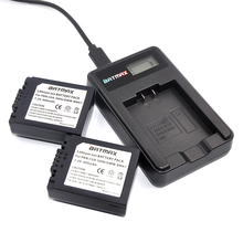 2X CGA S006 S006 DMW BMA7 S006A CGR S006E Battery LCD USB Charger for Panasonic Lumix