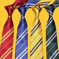 Harry Potter Tie Adult and Kid Costume Necktie Gryffindor/Slytherin/Hufflepuff/Ravenclaw Cosplay Boy Girl