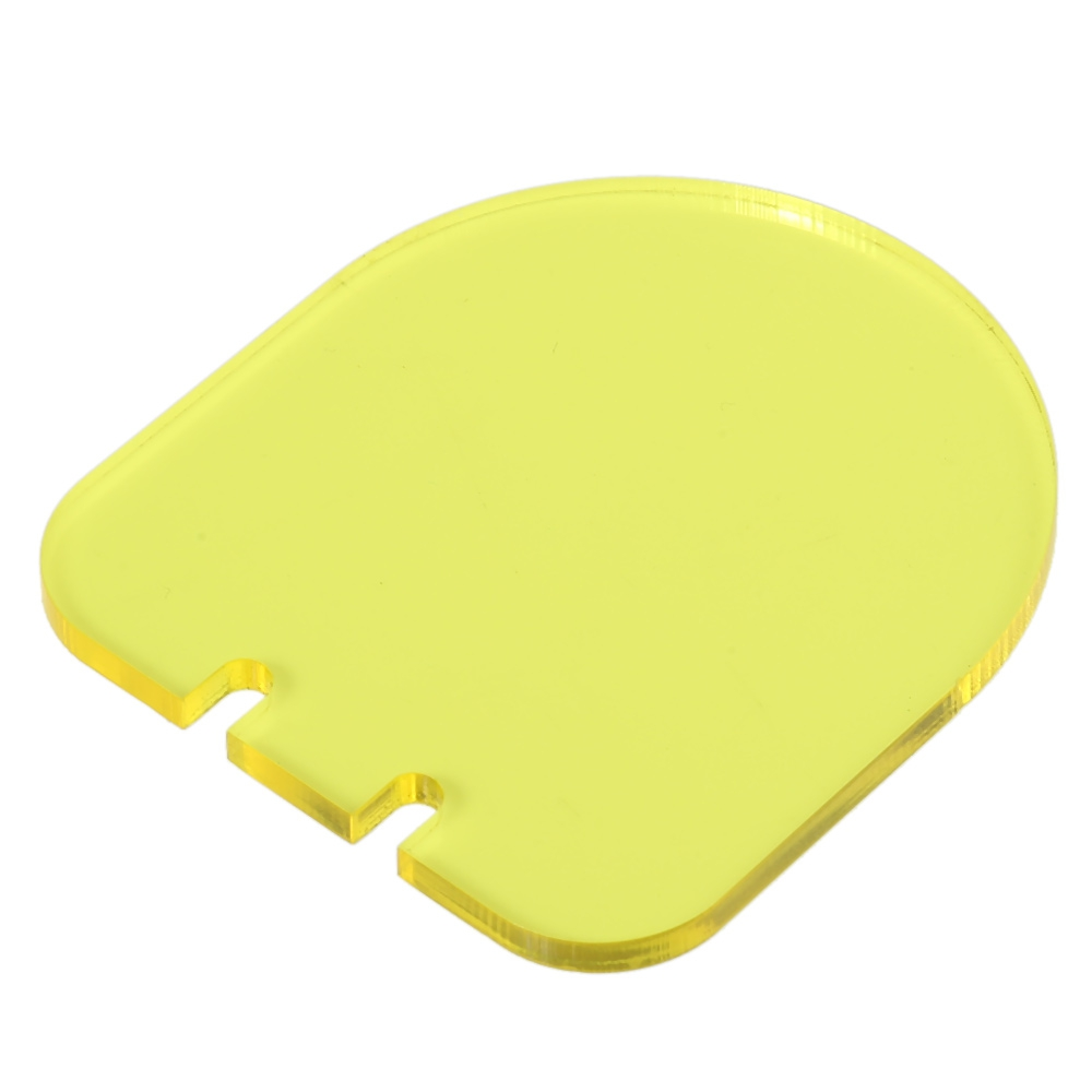 Farbe Besch doppel farbe plexiglas faltbare objektiv beschützer schallwand
