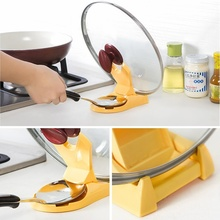 Multifunction Foldable Pot Pan Spoon Lid Storage Stand Holder Rack Utensil Cooking Tool Kitchen Wave Convenient