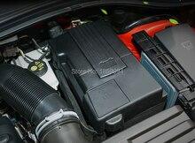 Для VW 2016 2017 2018 Skoda kodiaq положительные и отрицательные электрода батареи Водонепроницаемый пылезащитный Защитная крышка стикер