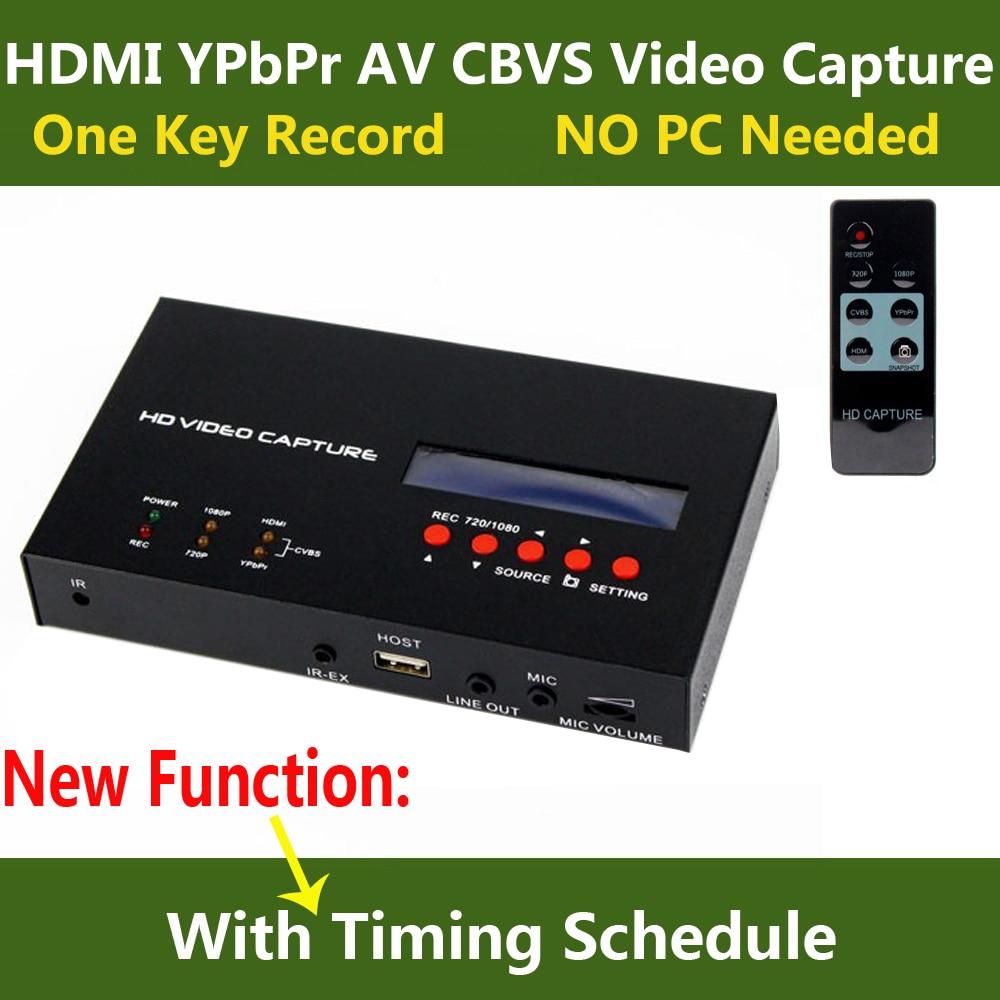 цена на Original Ezcap 283S HD Video Capture Box HDMI CVBS AV Game Video Recording For PS3 PS4 XBOX TV STB Medical Care Live Broadcast
