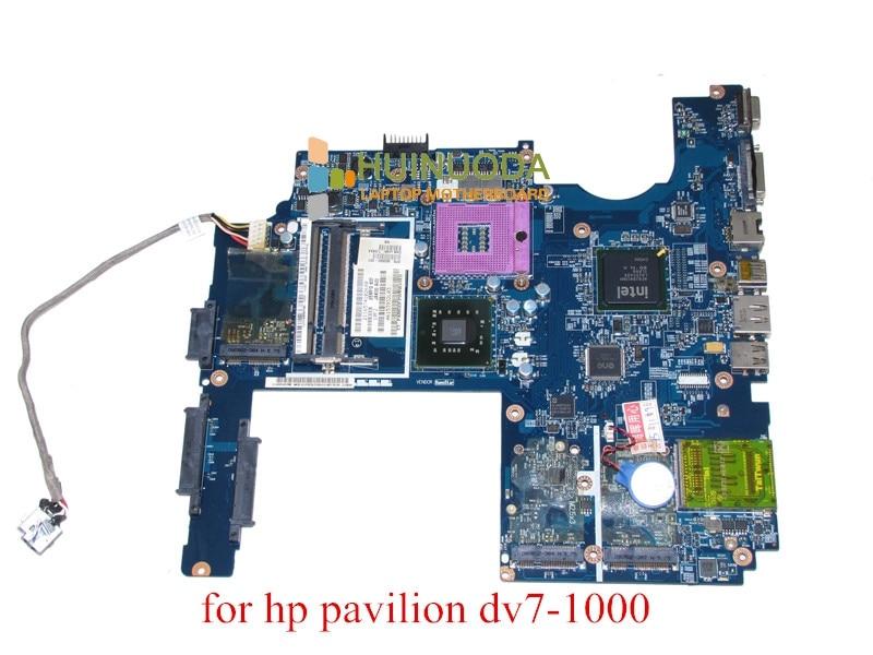 JAK00 LA-4081P SPS 500592-001 For hp pavilion DV7 DV7-1000 laptop motherboard GM45 DDR2 working perfectly for hp pavilion dv7 laptop motherboard la 4082p jak00 480366 001 480365 001