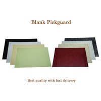 KAISH Various Colors 3 Ply 1 Ply Blank Pickguard Scratch Plate Material Sheet 290x430 Mm
