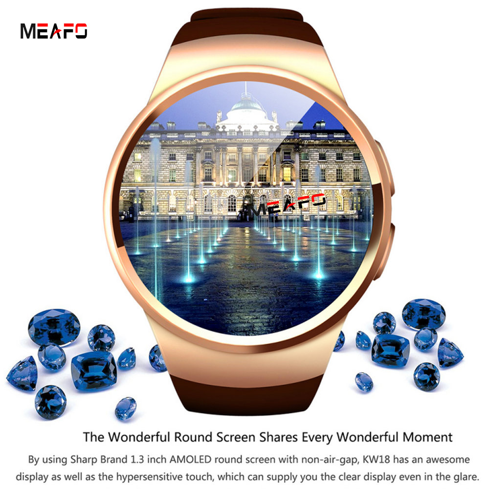 Bluetooth Smart Watch Phone ME18 SIM And TF Card Heart Rate Reloj Wearable Compatible For IOS iPhone 5s/6/6s/SE and Android new curren x4 smart phone watch heart rate step counter stopwatch ultra thin bluetooth wearable devices sport for ios android