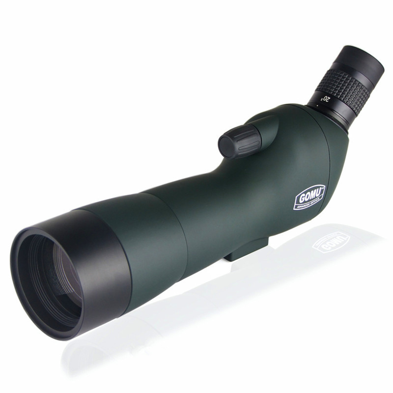 Gomu 20-60x60 Powerful Bird Mirror Telescope Astronomic Monocular High Quality Waterproof Landscape Lens With Tripod landscape with figures givernyрепродукции моне 30 x 30см