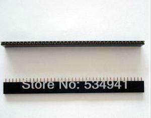 Image 3 - Ücretsiz Kargo Yüksek Kaliteli 4000Pins = 1*40 P 2.54 Pitch Tek Sıra Kadın Pin Header Konnektör/ 40P 2.54 konektörü 100 adet/grup