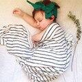 Муслин Пеленание Одеяло Младенческая Новорожденный бамбука муслин одеяло 120x120 см Марли Пеленать Полотенце многофункциональный