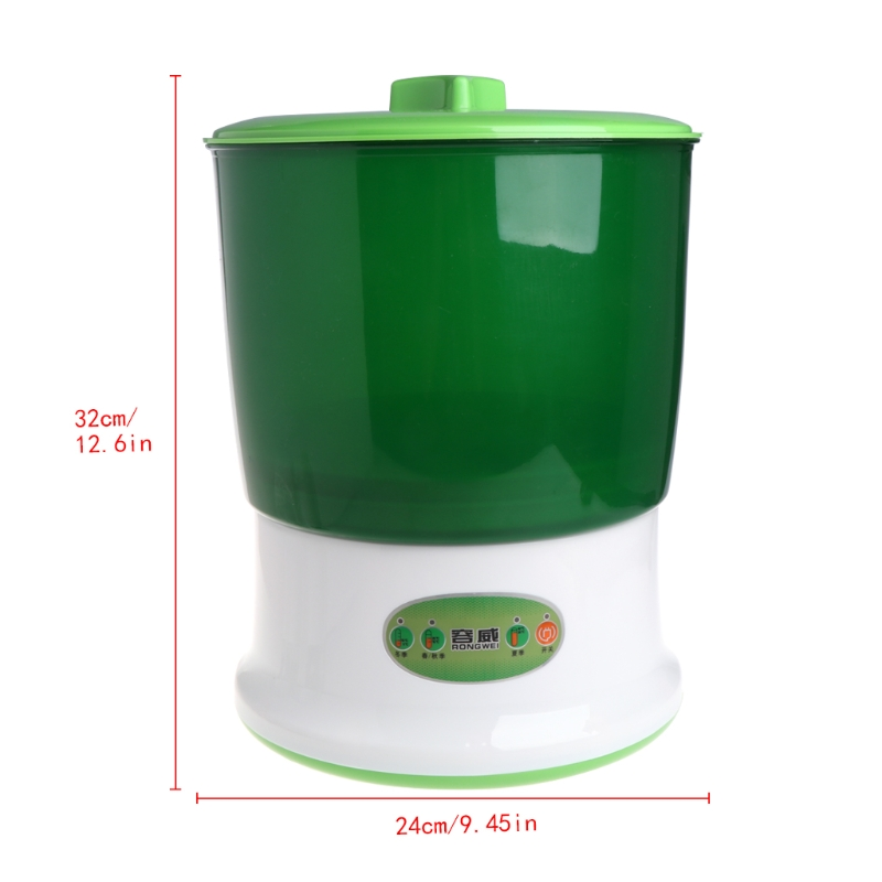 2019 New Auto Household 2 Layers Bean Seed Cereal Sprouts Machine Large Capacity 220V Garden Supplies
