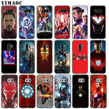 YIMAOC Avengers Endgame Marvel Iron Man Soft Silicone Phone Case for Samsung Galaxy S10 S9 S8 Plus S6 S7 Edge S10e E Cover(China)